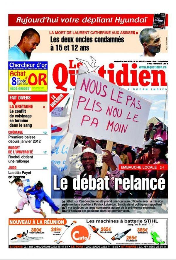Quotidien Réunion