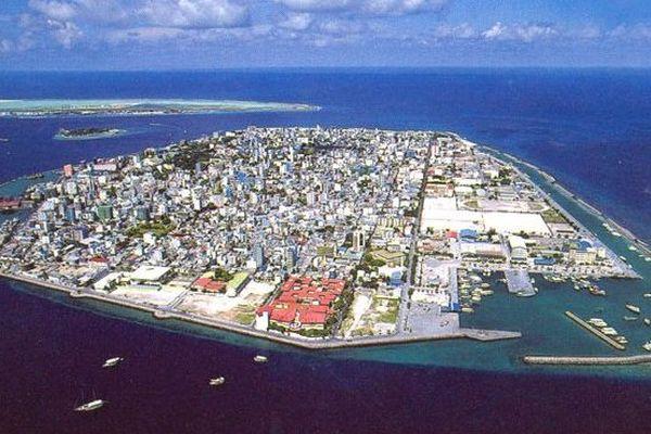 Male, capitale des Maldives