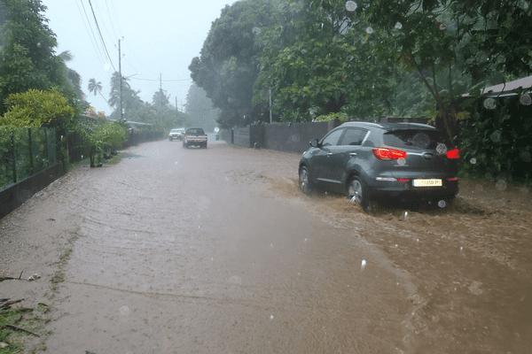 Inondations sur la côte est
