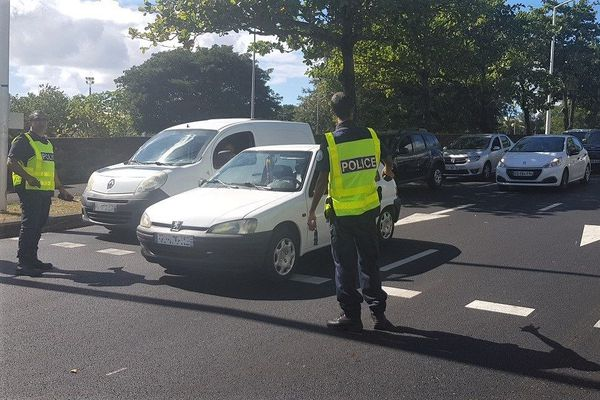 Saint-Denis: un conducteur flashé à 127km/h à Saint-Denis, au lieu de 70
