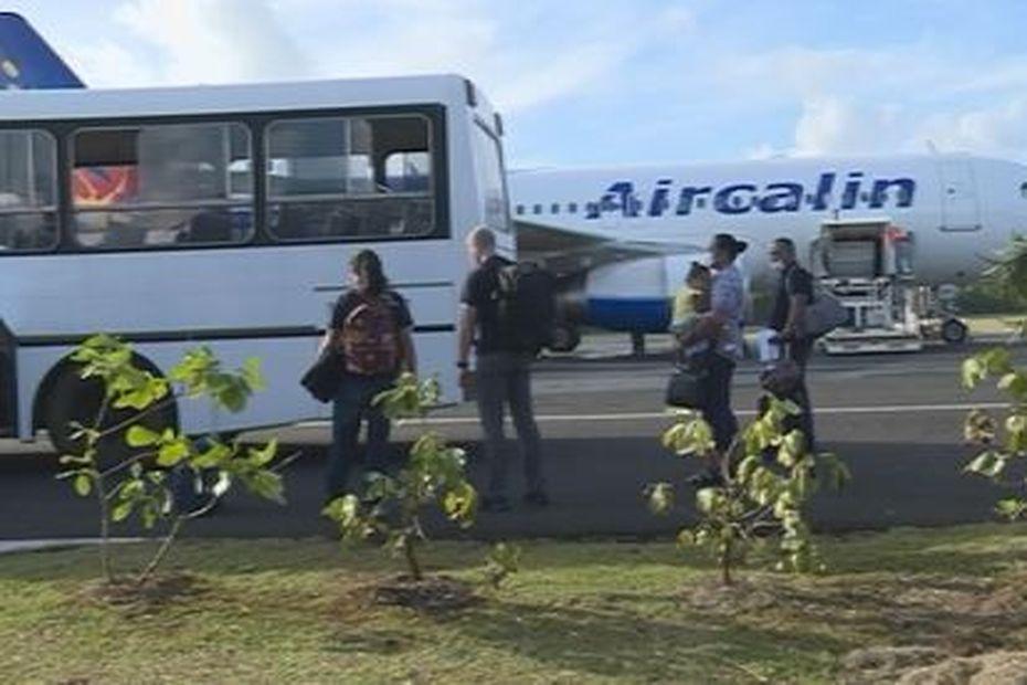 Dispositif sanitaire de sécurité pour le rapatriement de 115 résidents de Waliis et Futuna en provenance de Nouvelle-Calédonie et Métropole - Wallis-et-Futuna la 1ère