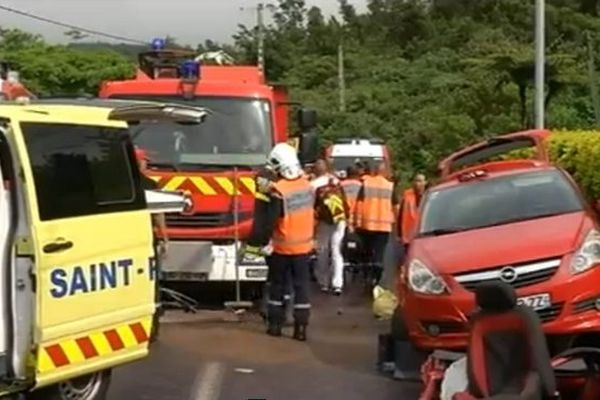 Accident Plaine des Cafres