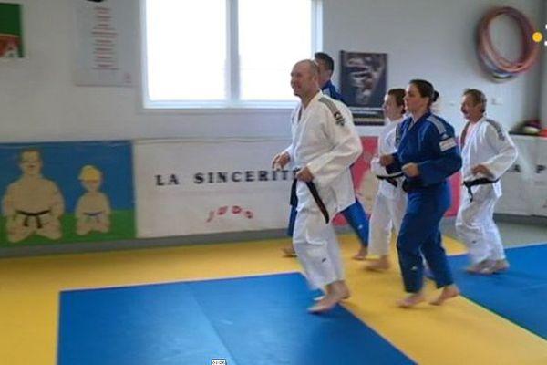 5 judokas s'entraînent pour l'Ecosse