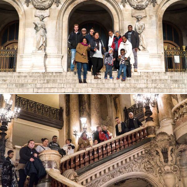 L'équipe propose régulièrement des sorties culturelles. Ici, à l'Opéra de Paris