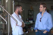 Sylvain Sauvage, gérant de brasserie indépendante, a été soutenu dans son projet par Divy Bartra, chef d'entreprise.