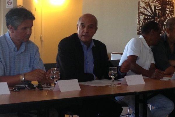 Yves Ethève, président de la Ligue réunionnaise de football