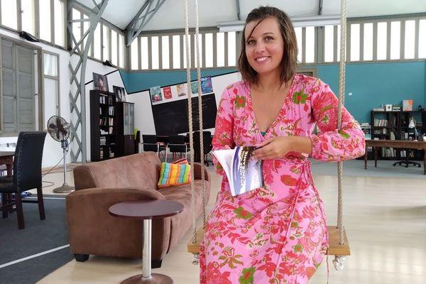 Alice Pierre, directrice de la Maison du livre NC, Nouméa, janvier 2021