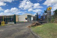 L'entrée de la poste à Dillon de nouveau accessible après un mouvement de grève commencé le 4 février 2021.