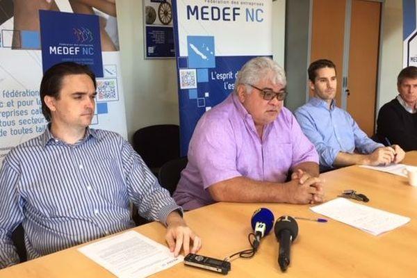 conf presse MEDEF 18 juillet 2019