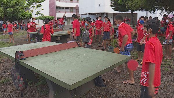 Collège du Taaone : respect du protocole sanitaire