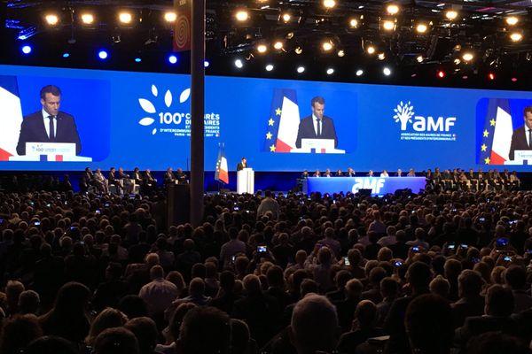Discours d'Emmanuel Macron au 100e congrès des maires