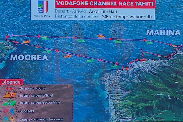va'a, la vodafone channel race