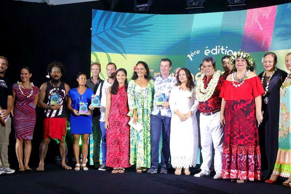 Les lauréats ont été primés dans cinq catégories