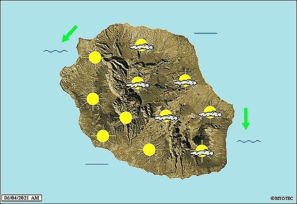 Carte météo 6 avril 2021