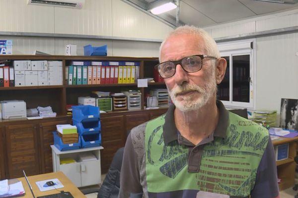 Thierry Carage médecin biologiste, responsable du laboratoire
