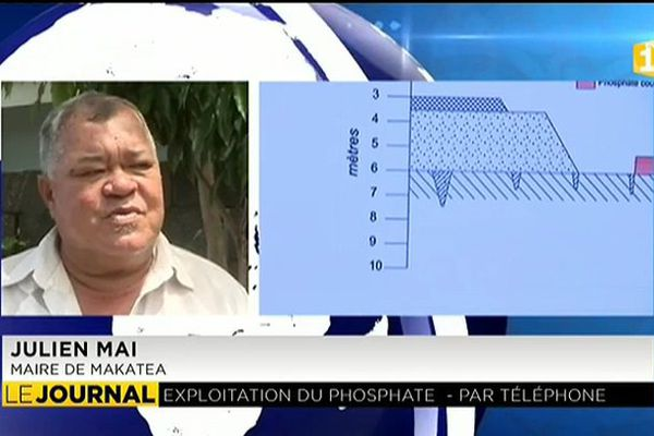 Le maire de Makatea favorable à l'exploitation du phosphate
