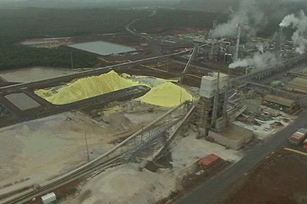 L'usine de Vale NC