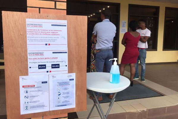 Municipales 2020 vote du 15 mars à Montsinéry
