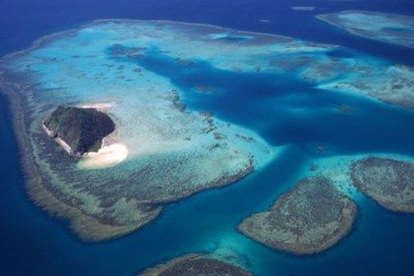 Le lagon de Nouvelle calédonie