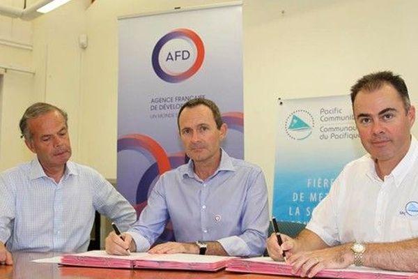 La France, à travers l'Agence française de développement, et la Communauté du Pacifique s'engagent ensemble en faveur du climat et de la protection de l'environnement dans le Pacifique