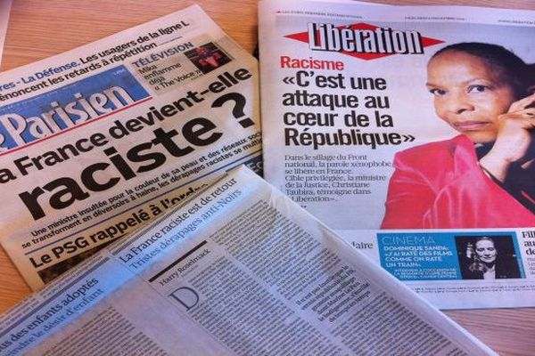 Libé et Le Parisien / racisme