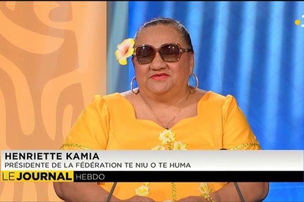 Invitée de l'hebdo : Henriette Kamia présidente de la fédération Te Niu o te Huma