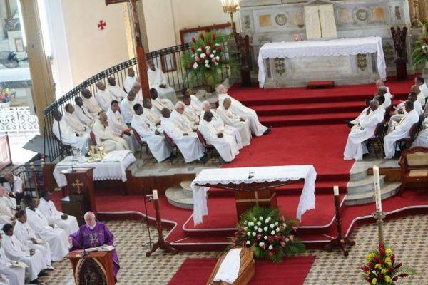 Funérailles du P. Serge Cirylle