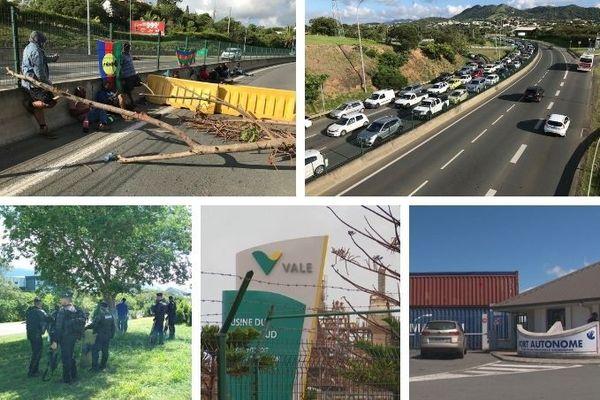 Lundi matin de blocage, 16novembre, dossier usine du Sud