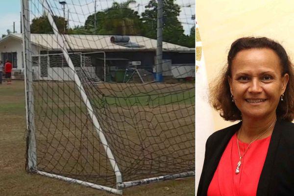 Chute d'une cage de but de football: précisions de la ministre de l'Éducation