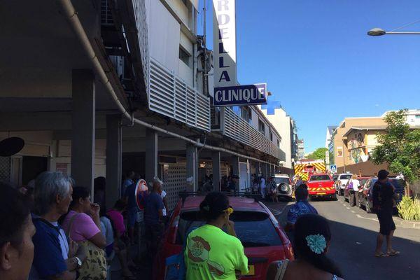 Evacuation de la clinique Cardella