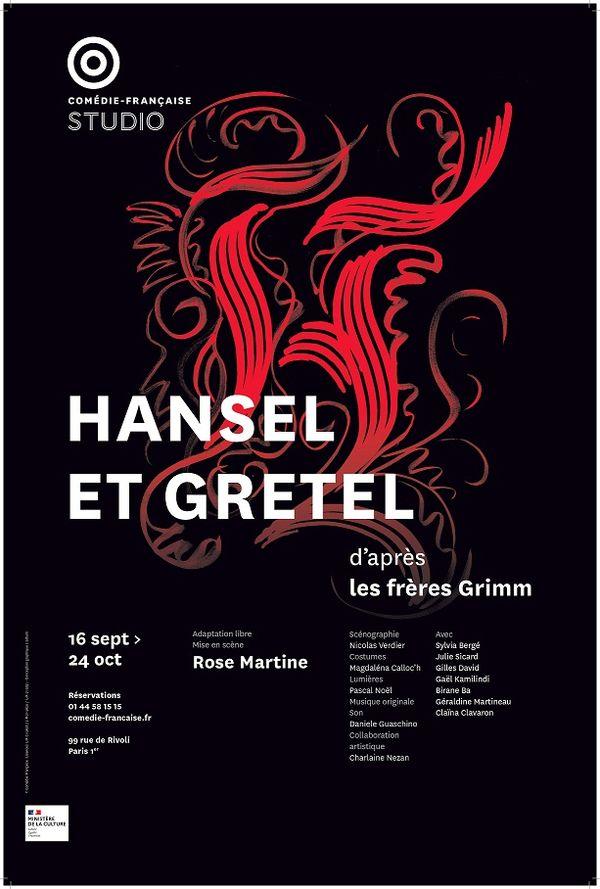 """L'affiche du spectacle """"Hansel et Gretel"""" à la Comédie-Française"""