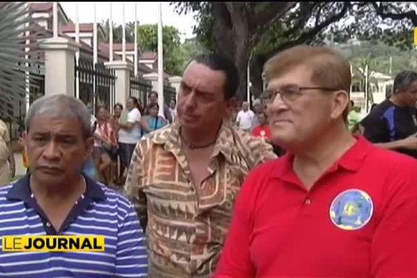 Manifestation contre le retrait de la DSP à la fédération de boxe