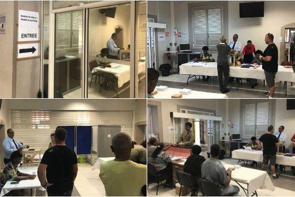 Bureau de vote de Cayenne
