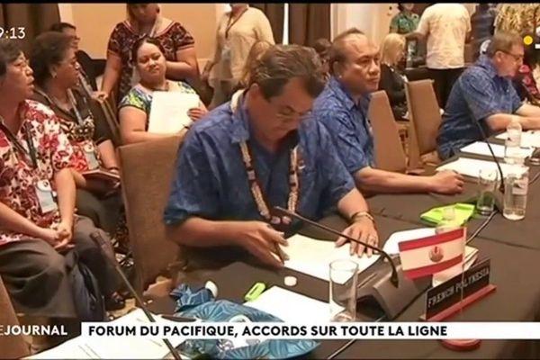 Les membres du Forum veulent « construire un Pacifique fort »