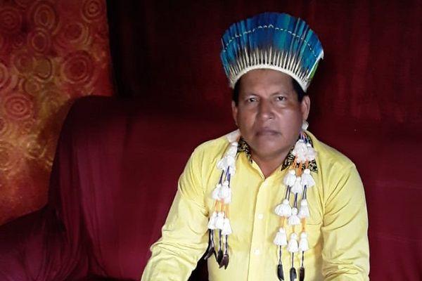 Erlis  dos Santos Karipunas, maire d'Oiapoque