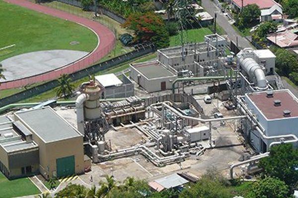 usine géothermique de Bouillante