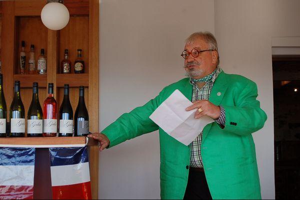 Bertrand Cadart, French mayor, lors d'un événement dédié à la culture française, 2012, en Tasmanie