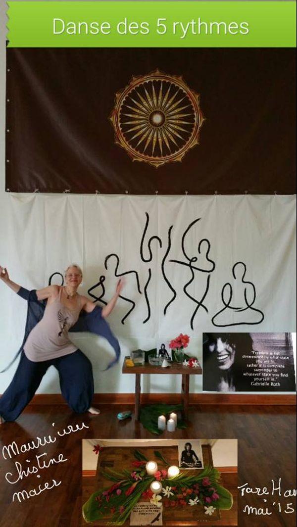 La danse des 5 rythmes à tahiti