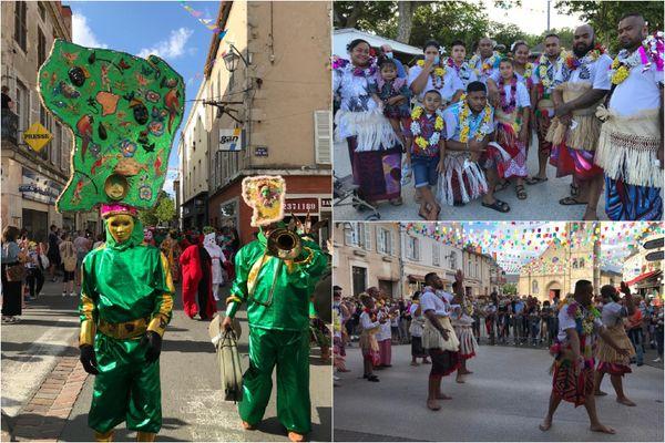 La Guyane, Wallis et Futuna au 47e festival des cultures du monde (Gannat)