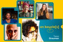 Retrouvez Ennio, Marie-Laure Garnier, Françoise Vergès, Giulia Nieddu, entre autres, dans le nouveau podcast en boucle[s] de Tessa Grauman