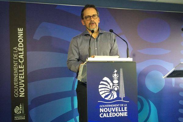 Philippe Dunoyer, porte-parole du gouvernement
