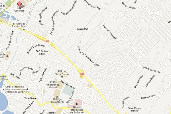 Maps Les Casernes
