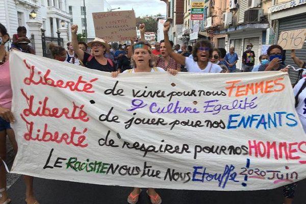 Manifestation Georges Flyod
