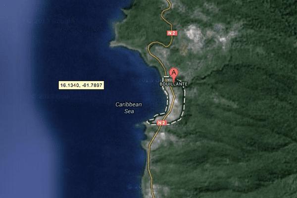 Bouillante (maps)