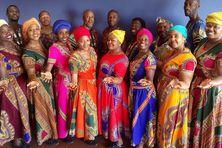 Les membres du Soweto Choir.