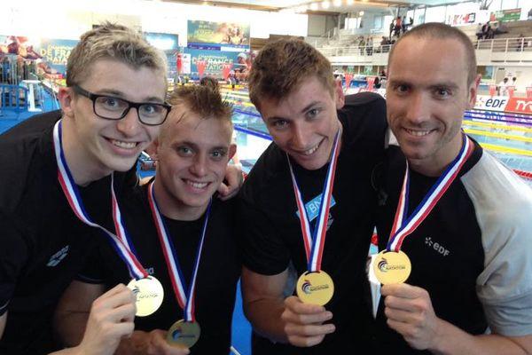 Natation championnats de France