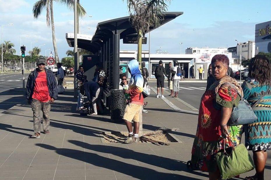 Le réseau Tanéo reste perturbé par une grève illimitée - Nouvelle-Calédonie la 1ère