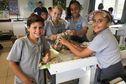A Dumbéa-sur-Mer, des collégiens dans les pas de l'astronaute Thomas Pesquet