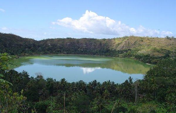 Vue du lac Dziani