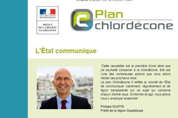 Philippe Gustin et le Plan Chlordécone